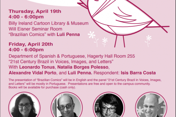 Flyer for First OSU Brazilian Literary Spring