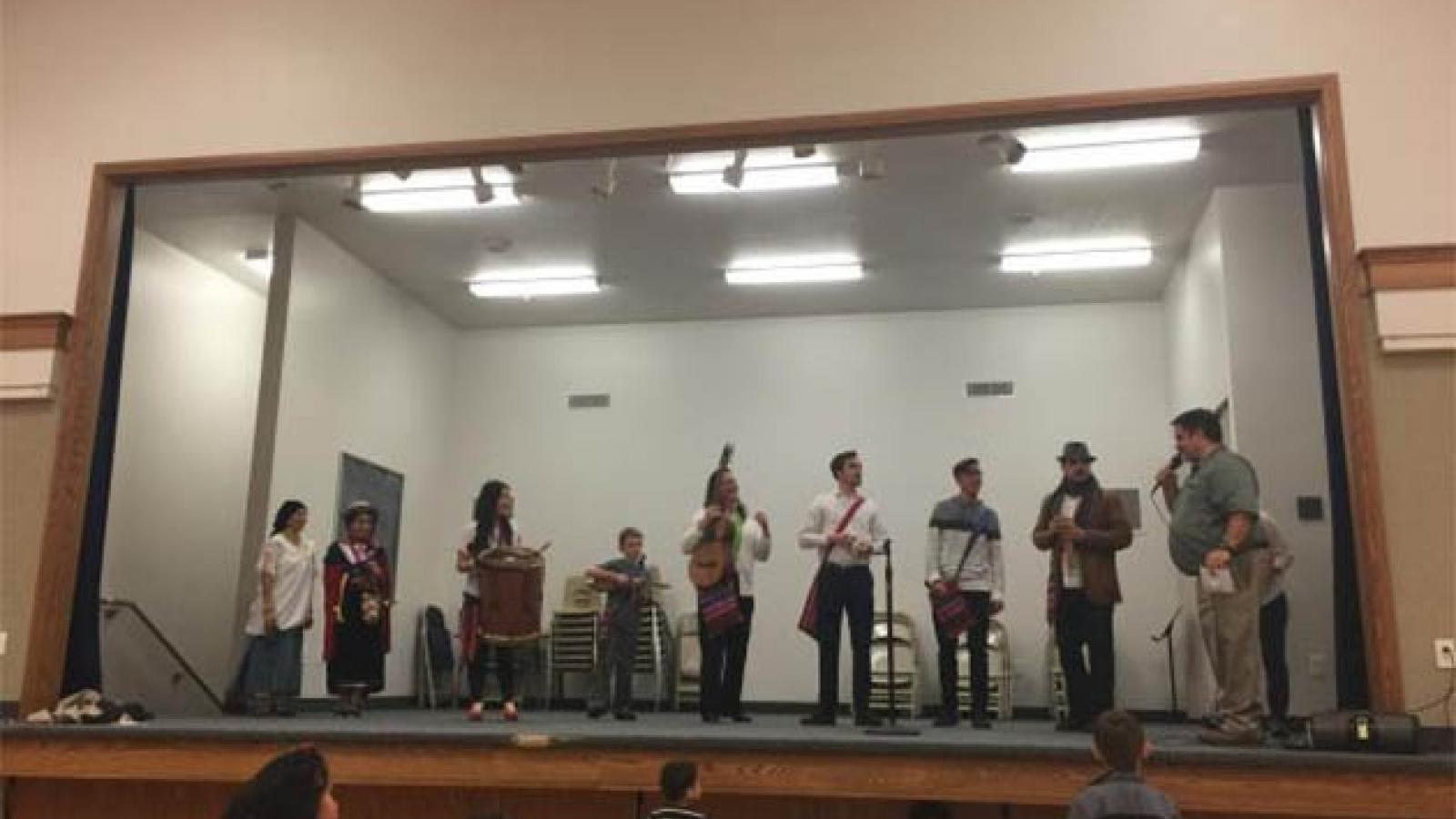 Andean Ensemble Performance Photo