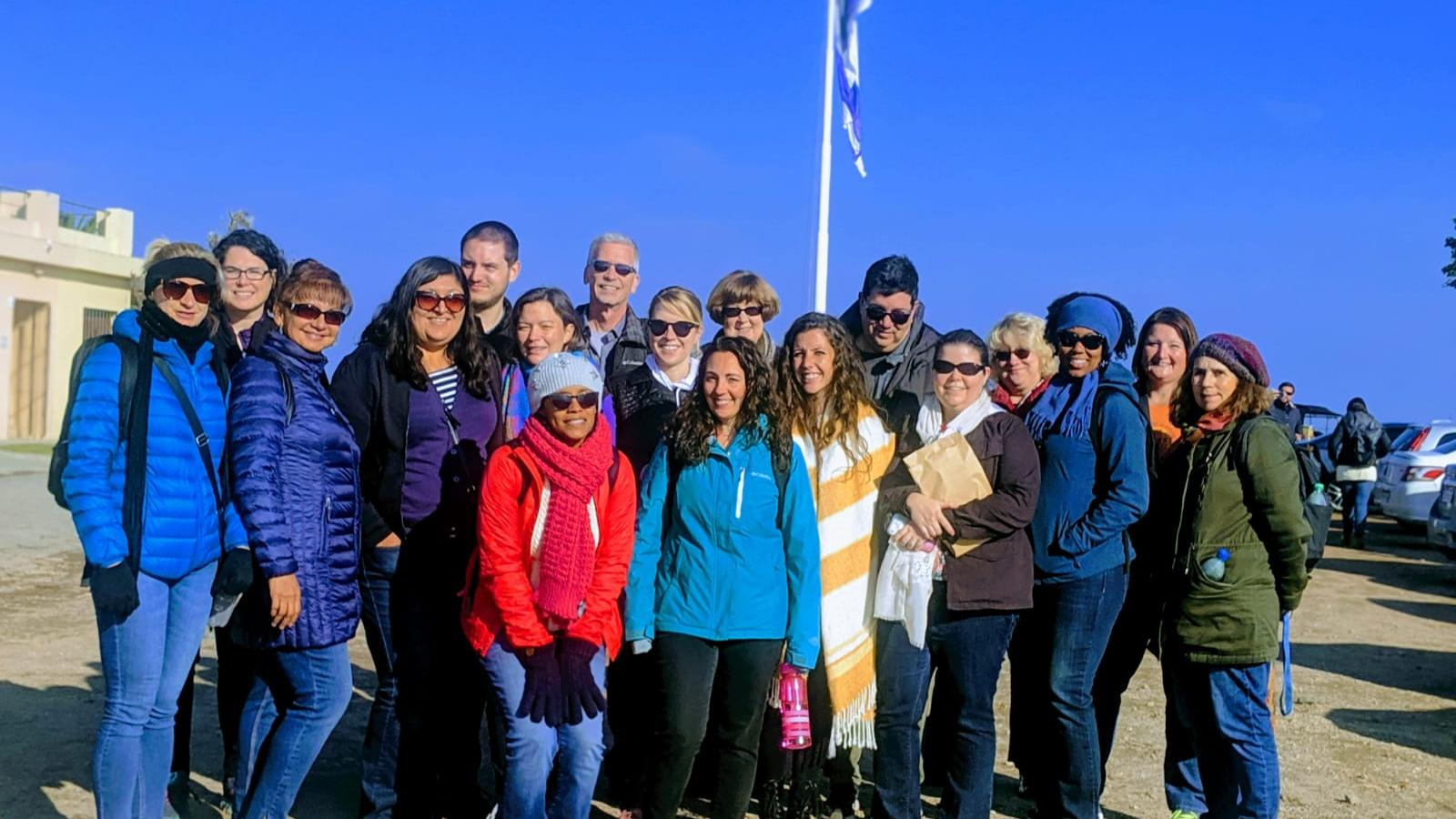 Teachers on study abroad trip in Uruguay in the summer